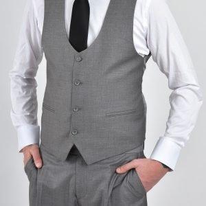 kostym - ljusgrå