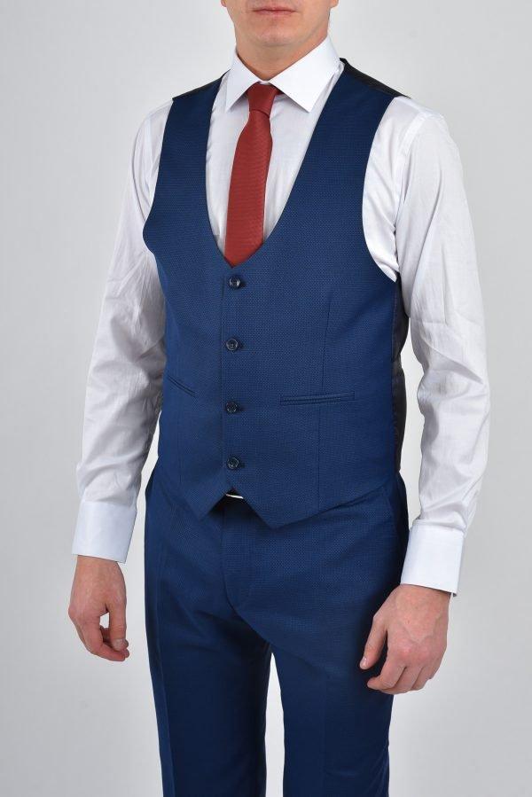 kostym - ljusblå