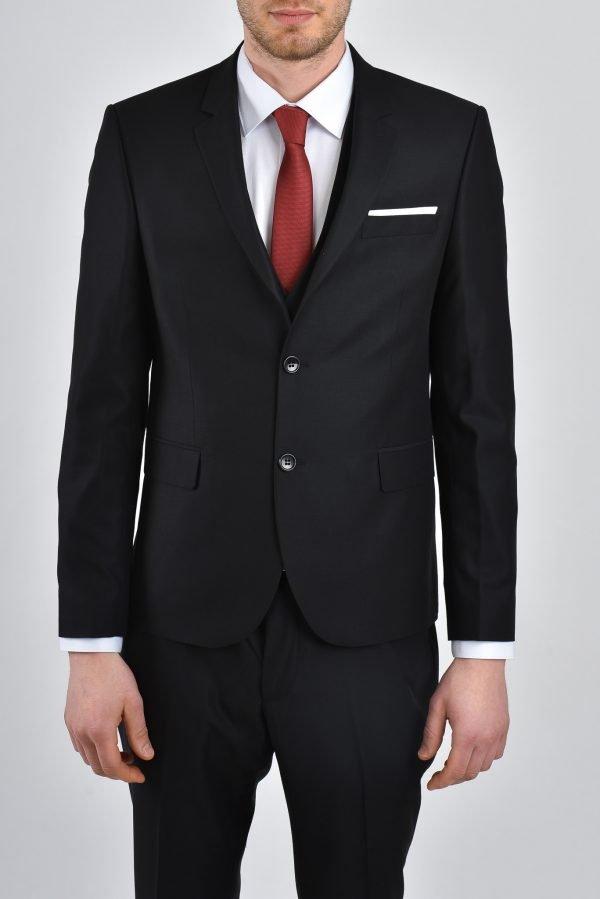 kostym - svart
