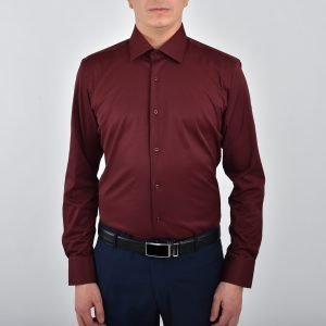 Skjorta - vinröd